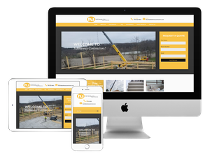 Our web design company did this website for a general contractor.